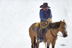 "Featured Artist: Nathan Solano, ""The Look of a Cowboy"""