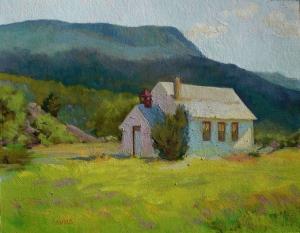 Emma Schoolhouse by Elizabeth Sandia