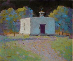 San Antonio Chapel By Elizabeth Sandia