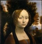 Ginevra de' Benci by da Vinci