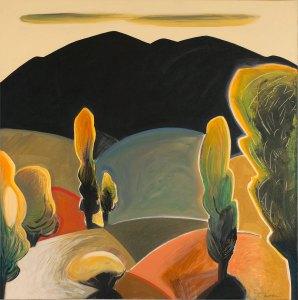 """Dan Namingha, """"Fall 7"""" at the Ann Korologos Gallery"""